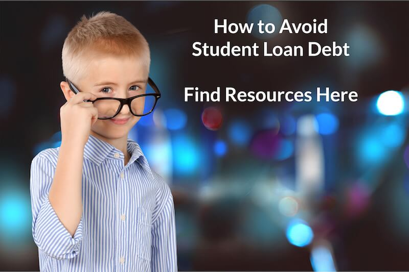 avoid student loan debt